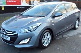 ** PRICED KEENLY FOR QUICK SALE** 2012 Hyundai i30 Active Blue Drive CRDi Estate, Metallic Grey
