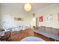 Large 3/4 bedroom apartment to rent in Kentish Town with terrace! £825 pw! Period conversion!
