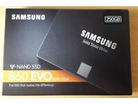 Samsung 250 GB 860 EVO SSD brand new sealed