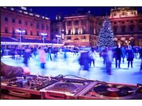 Somerset House Ice Skating 8pm Friday 08 December x4 tickets Could split and can meet central London