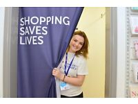 Cancer Research UK Charity Shop Volunteer – Gravesend