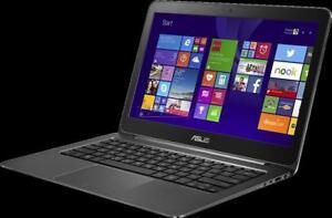 ASUS UX305FA-Q2 LAPTOP - INTEL M-5Y10 - 8GB DDR3 - 256GB SSD - WINDOWS 10 - WARRANTY 1 YEAR - REFURBISHED