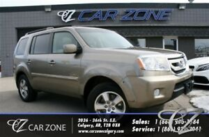 2010 Honda Pilot EX-L, Leather, Sunroof, 7 passenger