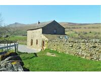 EASTER AVAILABILITY IN THE YORKSHIRE DALES