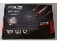 ASUS AMD ATI RADEON HD5450 SILENT 1GB DDR3 DX11 HDMI VGA DVI LOW PROFILE GRAPHICS VIDEO CARD