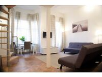 Brand new one bedroom mezz in Queensway - all bills included available for 3-4 months (68 AC)