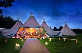 Giant Tipi & Marquee Erector