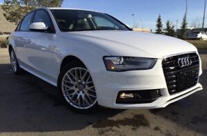 Lease take over - 2015 Audi A4 S-line White