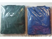 School green and blue jumpers packs of 2