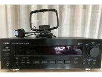 Teac AG-790A AM/FM Sterio Receiver (Black) including remote and AM/FM Antenna