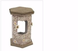 Rosewood Multifunctional Cat Play Tower and Tunnel