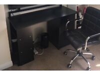 Desk and chair 45£