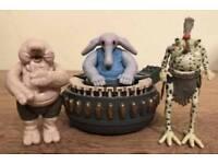 Star Wars figures Max Rebo Band
