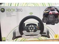 XBOX360 Racing Wheel