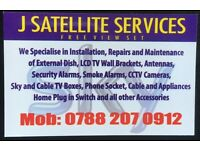 Satellite Dish,Tv Aerials,CCtv,Alarms