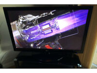 LG 50 inch HD Plasma tv with Freeview