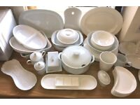 Whiteware - 60 pieces