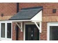 upvc over door canopy roof