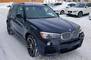 2017 BMW X3 xDrive35i FULLY LOADED! 73000$ MSRP!