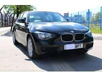 61 PLATE BMW 1 SERIES 116D 2.0TD Black Diesel Sports Hatch d ES