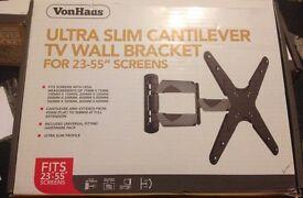 "Ultra Slim Cantilever TV Bracket. 26""-55"" TVs"