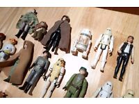 WANTED - VINTAGE STAR WARS, LARGE OR SMALL COLLECTIONS, ANYTHING CONSIDERED, PRIVATE BUYER :)