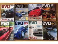 8 EVO car magazines 2002