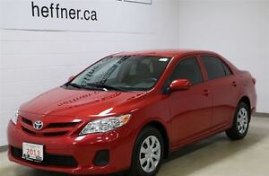 2013 Toyota Corolla CE with manual transmission