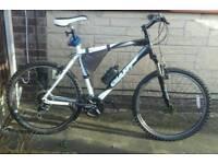 Mens Giant Rincon Mountain Bike 26'' wheels 21' frame 24 speed SR Suntour 80mm Suspension
