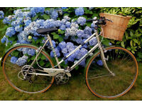 BSA Camille Classic Lightweight Ladies's bike with Wicker basket