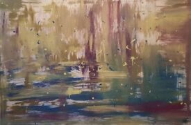 Local artist paintings for sale or commissions taken - abstract and colourful