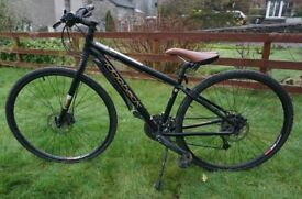 Ex hire Ridgeback Quest Dual Track mountain hybrid bikes. Adult size S & XS left