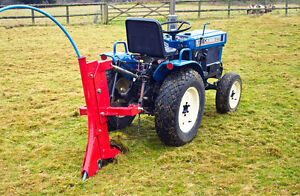 Subsoiler / Ripper & Pipe Layer RP1 - Tractor Mounted (Small or Compact Tractor)