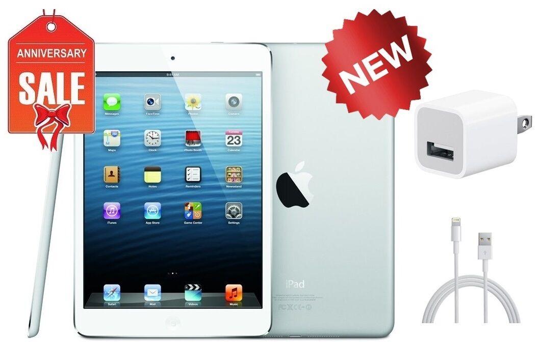 NEW Apple iPad Mini 1st Gen - 16GB - Wi-Fi 7.9in - Black Gray Silver & White