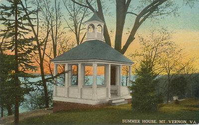 Mt. Vernon VA * Summer House  ca. 1908  Leet Bros. Pub.  W. VA RY