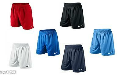Nike Park ll Dri Fit Mens Adult Sports Football Gym Shorts Black Red Navy White