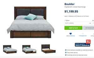 BOULDER KING BED  FOR SALE Leumeah Campbelltown Area Preview