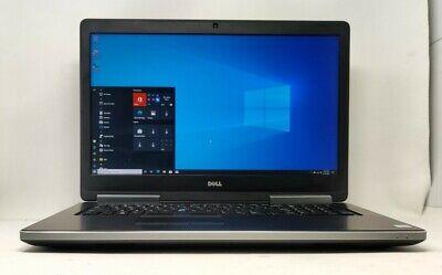 Dell Precision 7710 Intel i7-6820HQ, 2.70GHz 16GB RAM 256GB SSD W10P Gaming