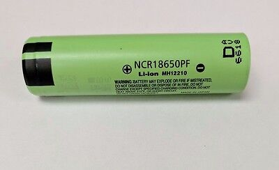 100 X Lot New Panasonic 18650 Lithium Ion Battery 10 Amp 3.7V NCR 18650PF