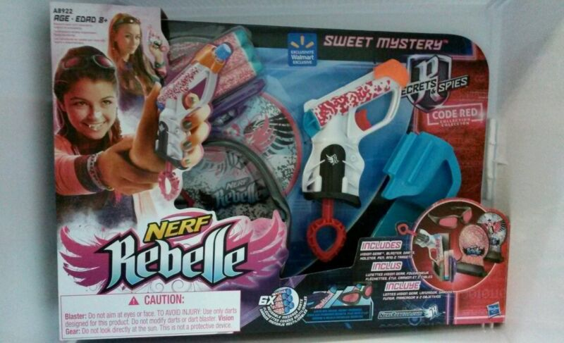 Nerf Rebelle Sweet Mystery Code Red Collection