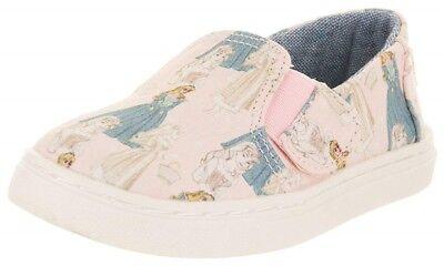 Disney X TOMS Pink Sleeping Beauty Tiny TOMS Luca Slip-On Shoe