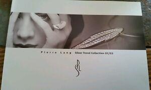 **Rarität** Pierre Lang Katalog Silver Trend 2002/2003