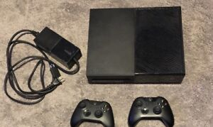 Xbox one with 2 controllers
