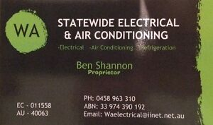 WA Statewide Electrical & Air Conditioning Kinross Joondalup Area Preview
