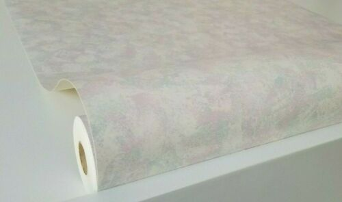 Paint Brushed Pink Main Color Wallpaper by Willow Lake