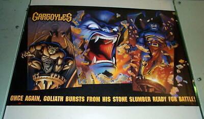 GARGOYLES TV Cartoon Vintage  Poster
