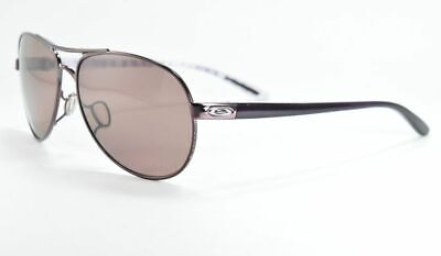 Oakley Sunglasses  FEEDBACK OO4079-10 Purple Pilot Frame w/ Polarized Rose (Womens Purple Oakley Sunglasses)