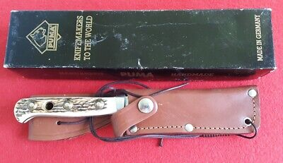 PUMA 1996 Original SKINNER STAG Made in Germany knife/knives - 116393-New in Box
