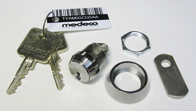 New - M3 Medeco 72s Cam Lock 2 Keys Tamper Collar Catch Pawl 58 Long