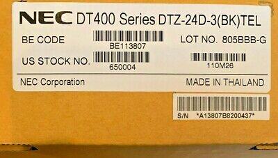 New Nec Dt400 Series Dtz-24d-3 Bk Telephone Stock 650004